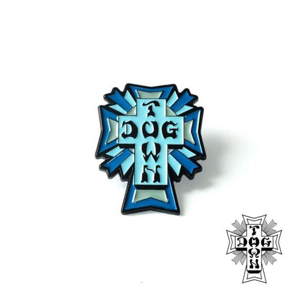 画像1: [DOGTOWN]-Enamel Pin Cross Logo Color- (1)