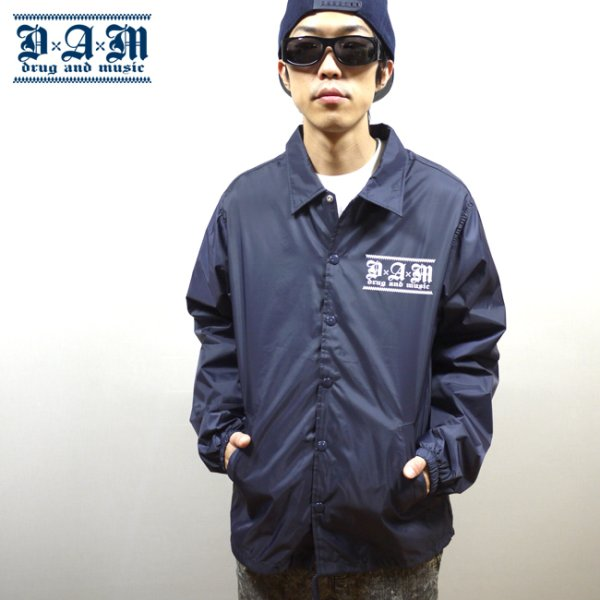 画像1: [DxAxM]-KLASSIC WINDBREAKER-NAVY/WHITE- (1)