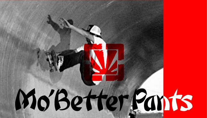Mo'better pants通販ページトップ画像