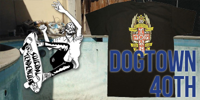 DOGTOWN ドッグタウン 40周年 Tシャツ 通販