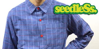 seedless シードレス シャツ 通販 春物