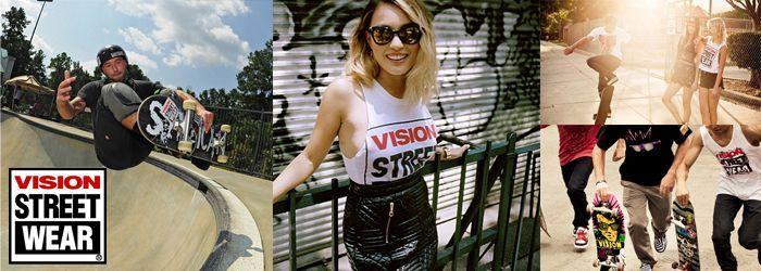 vision street wear通販ページ画像
