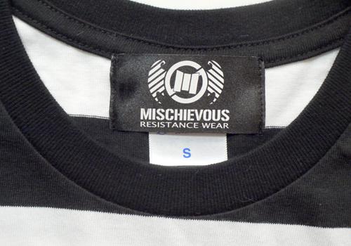 MISCHIEVOUS  MSCVS  ボーダー Tシャツ 通販 名古屋 スケーター BMX バンド ライブ ブランド