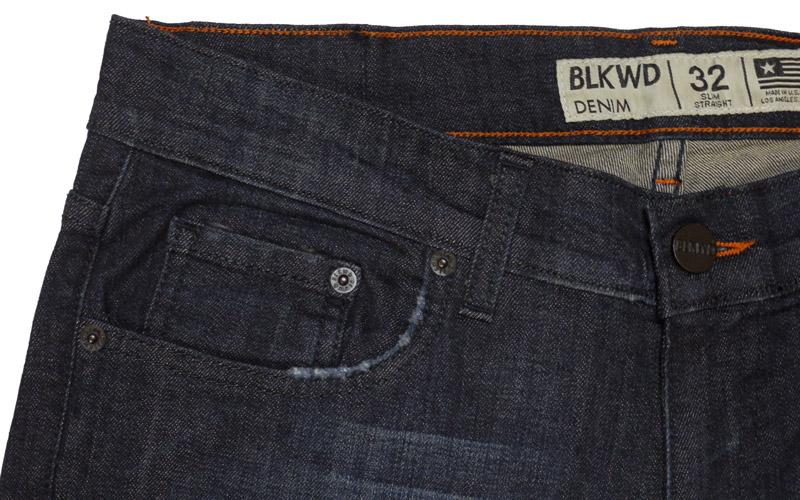 BLKWDデニムOak Washの前ポケット画像