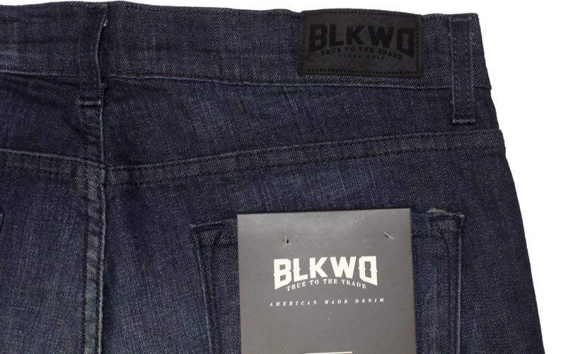 BLKWDデニムOak Washのバックポケット画像