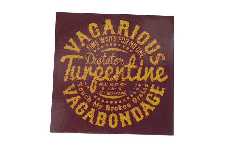 vagarious vagabondage 1st ep turpentineの特典ステッカー画像