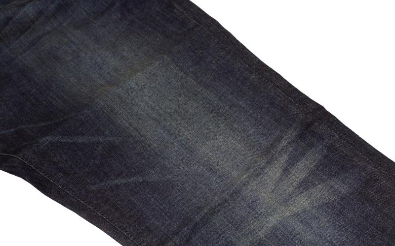 BLKWDデニムOak Washの股ウォッシュ画像