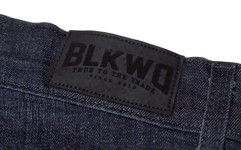 BLKWDデニムOak Washのネーム画像