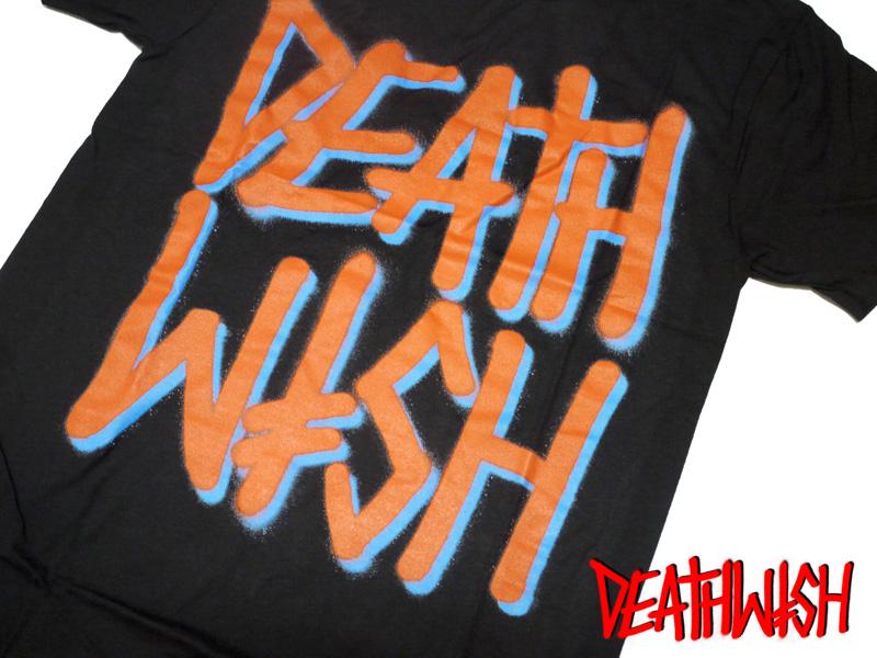 DEATWISH  デスウィッシュ Tシャツ スプレー ロゴ 通販