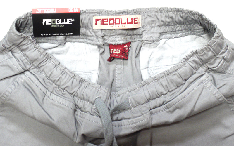 neo blue   jogger pants  ジョガーパンツ サルエルパンツ スキニー ジーンズ