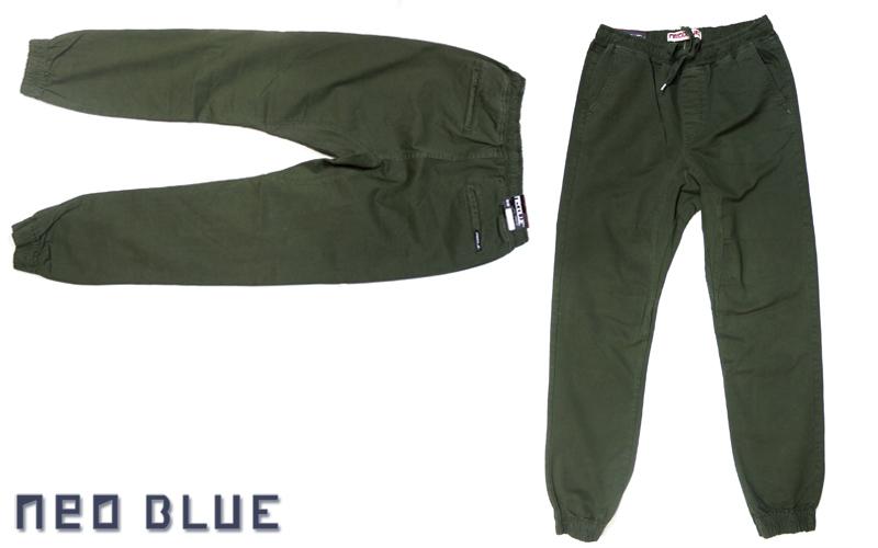 NEO BLUE jogger pants ジョガーパンツ サルエル アーミー グリーン 通販