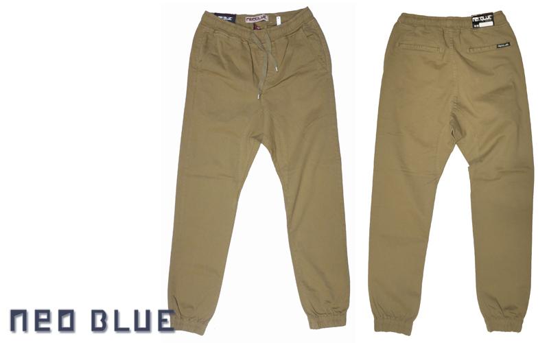 NEO BLUE jogger pants ジョガーパンツ サルエル カーキ 通販