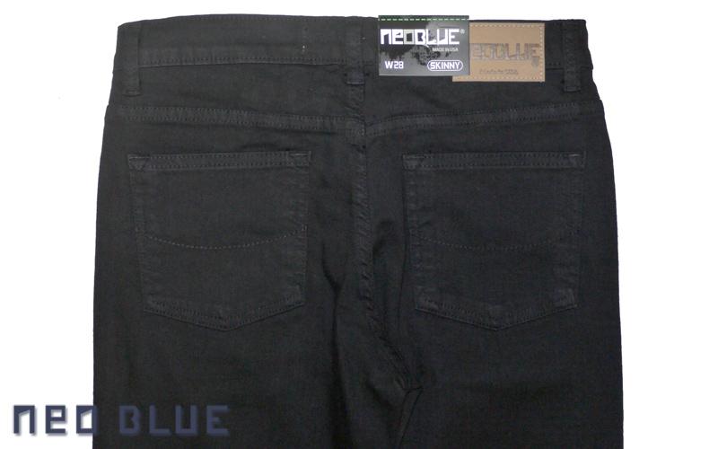 NEO BLUE jogger pants スキニー SKINNY   ブラック 通販