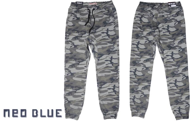 NEO BLUE jogger pants ジョガーパンツ サルエル カモフラ カモ柄 通販