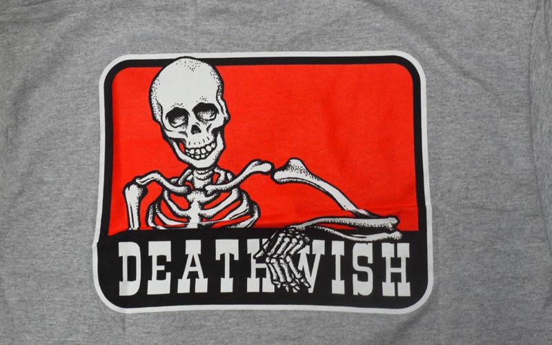 DEATHWISH デスウィッシュ スケートブランド スカル BENNY POCKET TEE    通販
