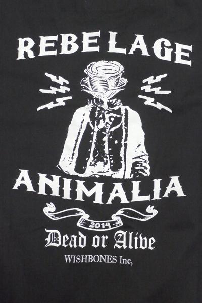 ANIMALIA アニマリア Tシャツ 半袖 チェリコ カツオ ブランド REBEL AGE