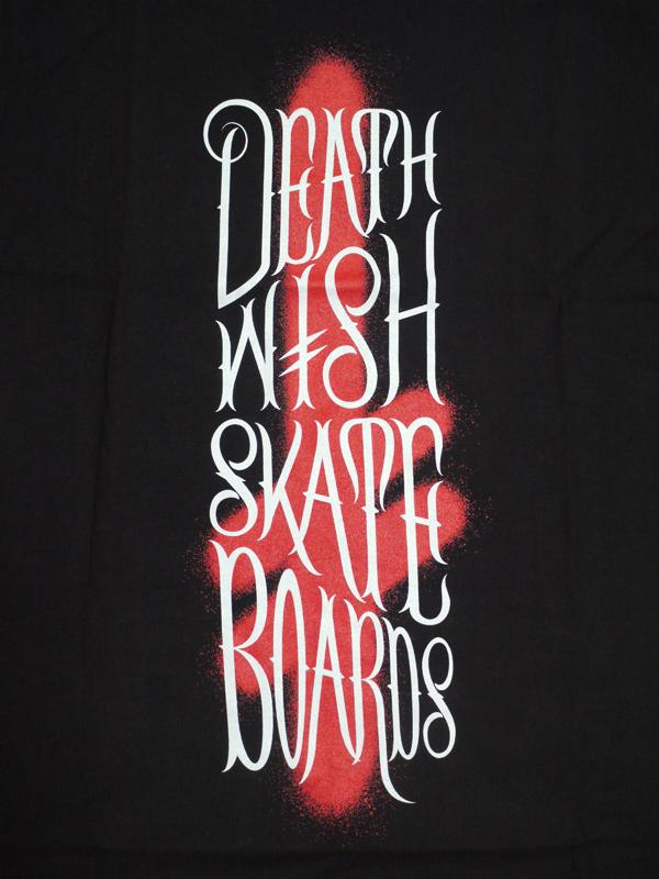 デスウィッシュ Tシャツ BRUSH STACK DEATHWISH スケート ブランド 通販