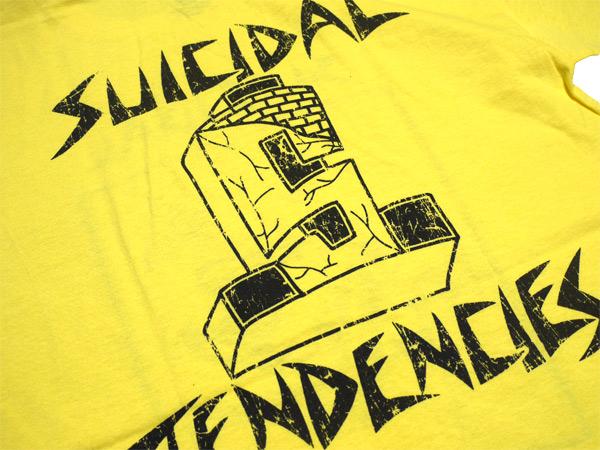 スイサイダルテンデンシーズ SUICIDAL TENDENCIES Tシャツ 新作 通販 TS 8 Skater OLD SCHOOL YELLOW