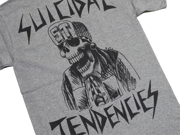 スイサイダルテンデンシーズ SUICIDAL TENDENCIES Tシャツ 新作 通販 TS 33 OG Flipskull GREY