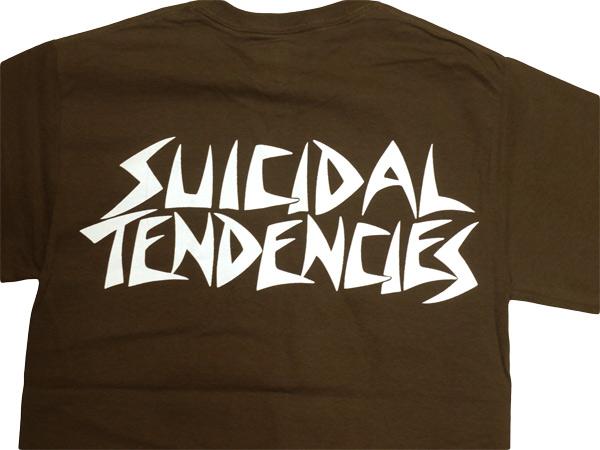 スイサイダルテンデンシーズ SUICIDAL TENDENCIES Tシャツ 新作 通販 TS 28 Possessed BROWN
