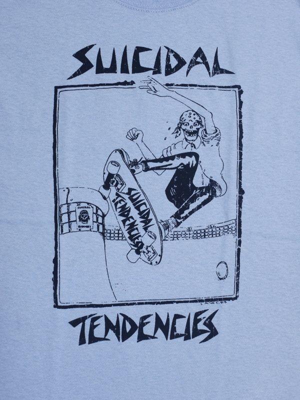 スイサイダルテンデンシーズ SUICIDAL TENDENCIES Tシャツ 新作 通販 TS 8 Skater OLD SCHOOL LT BLUE