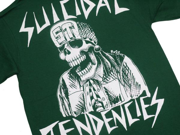 スイサイダルテンデンシーズ SUICIDAL TENDENCIES Tシャツ 新作 通販 TS 33 OG Flipskull GREEN