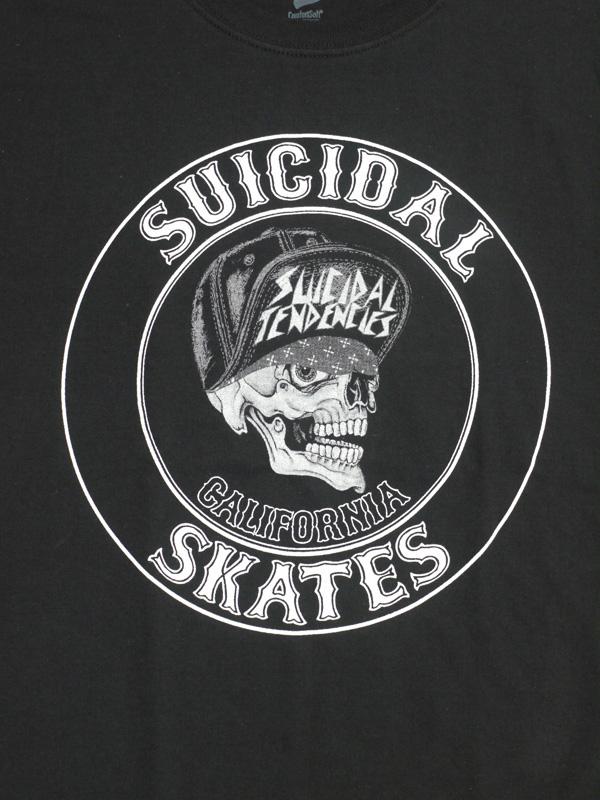 スイサイダルテンデンシーズ SUICIDAL TENDENCIES Tシャツ 新作 通販 TS SS Skates BLACK
