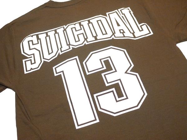 スイサイダルテンデンシーズ SUICIDAL TENDENCIES Tシャツ 新作 通販 TS 27 13 Logo BROWN