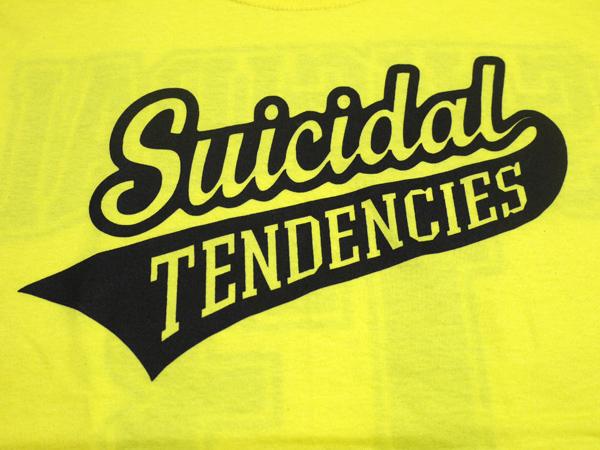 スイサイダルテンデンシーズ SUICIDAL TENDENCIES Tシャツ 新作 通販 TS 27 13 Logo YELLOW