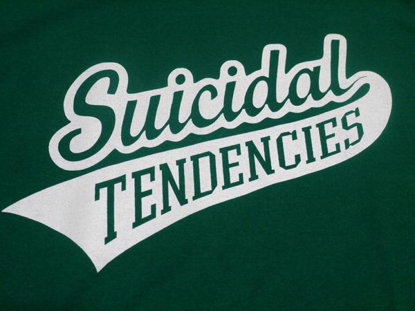 スイサイダルテンデンシーズ SUICIDAL TENDENCIES Tシャツ 新作 通販 TS 27 13 Logo GREEN
