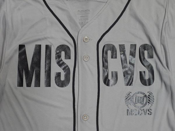 MSCVS MISCHIEVOUS ミスチェバス ベースボールシャツ ジャージ