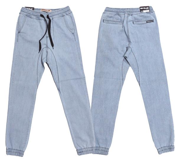 NEO BLUE jogger pants ジョガーパンツ サルエル デニム ブルー 通販