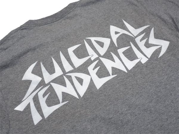 スイサイダルテンデンシーズ SUICIDAL TENDENCIES Tシャツ 新作 通販 TS volta grey