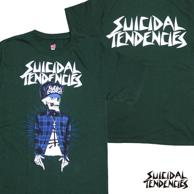 スイサイダルテンデンシーズ SUICIDAL TENDENCIES Tシャツ 新作 通販 TS volta green