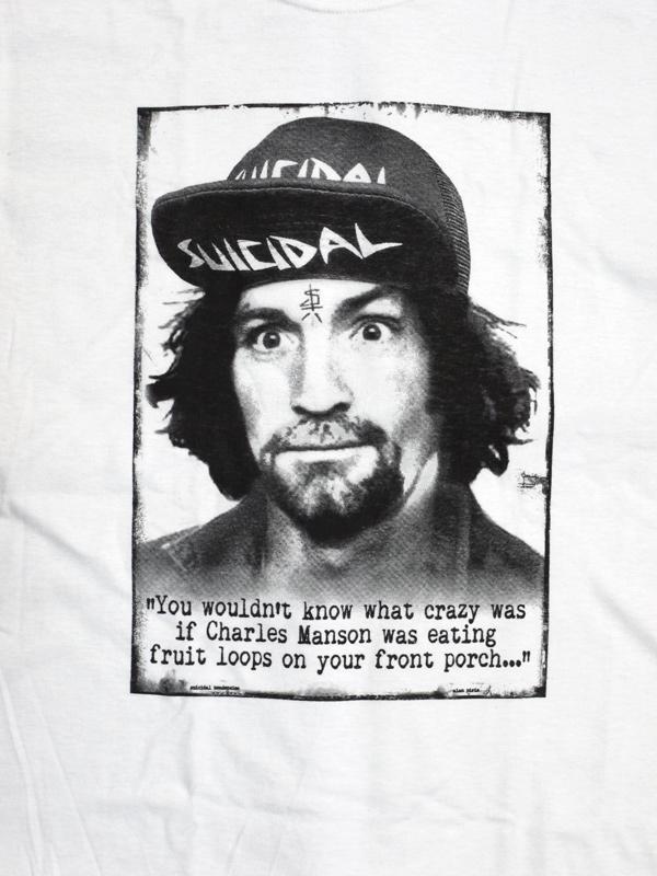 スイサイダルテンデンシーズ SUICIDAL TENDENCIES Tシャツ 新作 通販 manson charlie