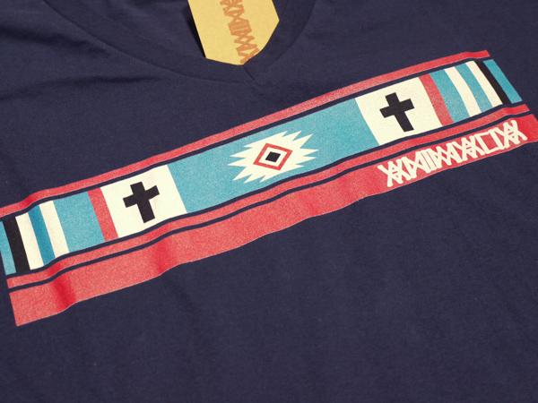 アニマリア ANIMALIA Tシャツ 通販 Vネック エスニック インディアン
