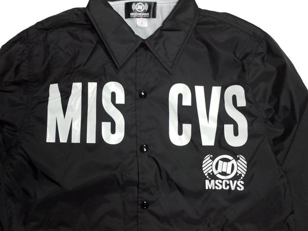 MISCHIEVOUS MSCVS コーチジャケット アウター ウインドブレーカー 通販 FUCK 2 BASICK