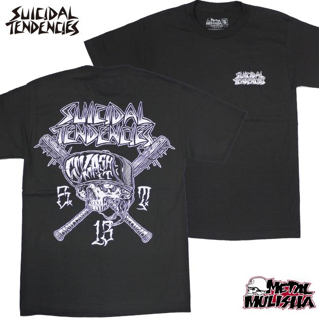 SUICIDAL TENDENCIES METAL MULISHA コラボTシャツ SMASH IT ブラック