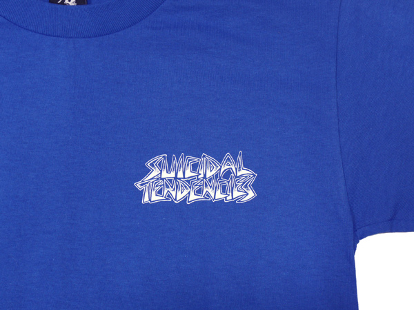 SUICIDAL TENDENCIES METAL MULISHA コラボTシャツ SMASH IT ロイヤルブルー
