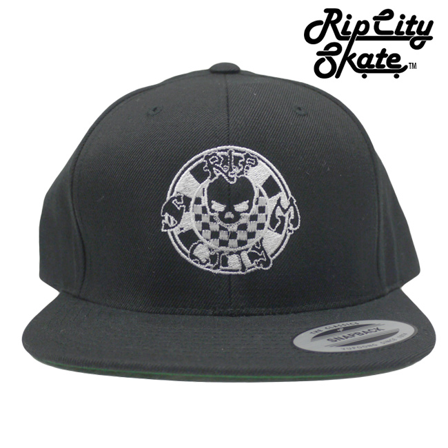 Rip city skate リップシティー skate board shop CAP キャップ スケートブランド 通販