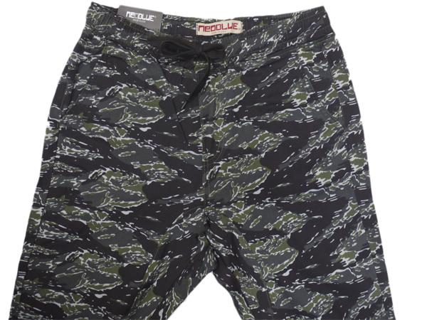 7630 NEO BLUE jogger pants ジョガーパンツ Twill スキニー スケーター 通販