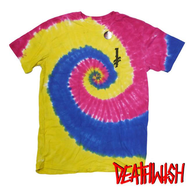 DEATHWISH SKATE デスウィッシュ Tシャツ アパレル 通販 タイダイ COLORS OF DEATH