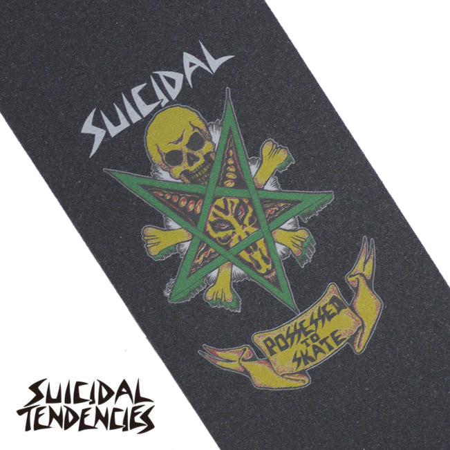 SUICIDAL TENDENCIES GRIP TAPE グリップテープ スイサイダル スケート 通販 Possessed To Skate