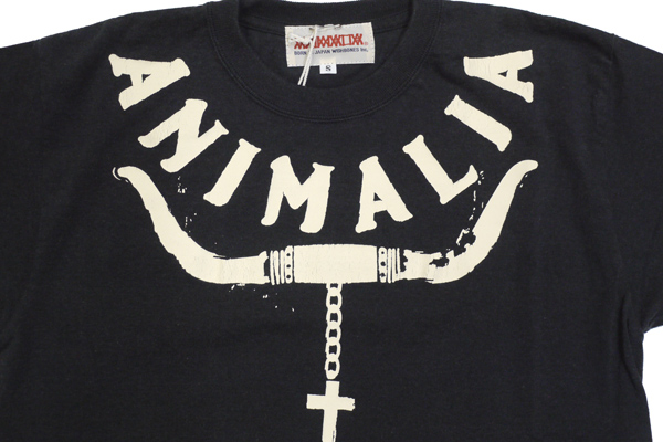 ANIMALIA Tシャツ LONG HORN 通販 MEANING 着用