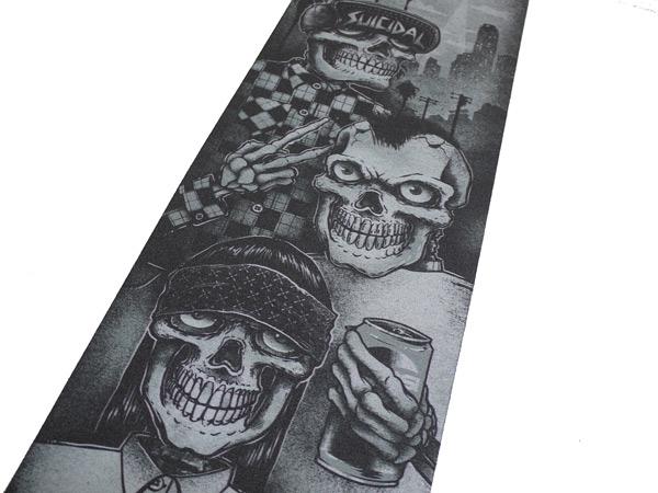 SUICIDAL TENDENCIES GRIP TAPE グリップテープ スイサイダル スケート 通販 tres vatos