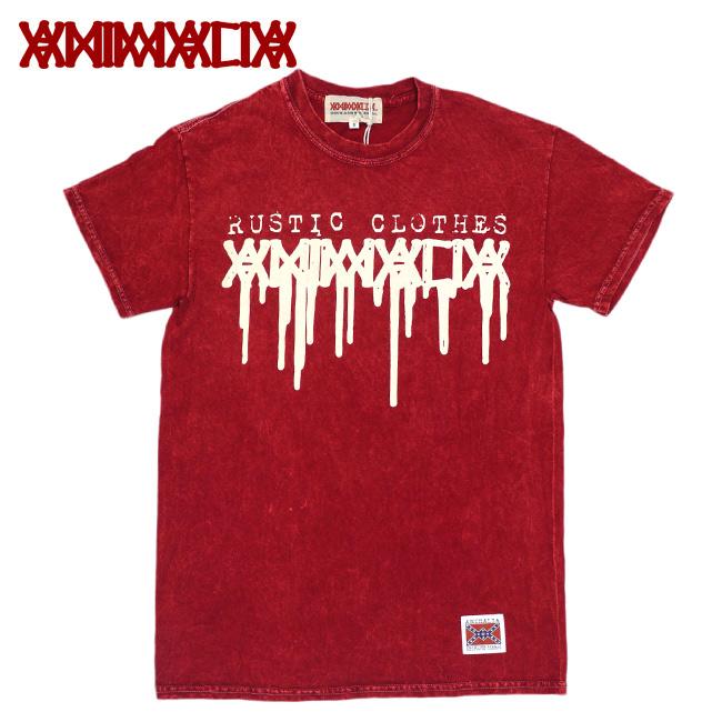 ANIMALIA アニマリア タイダイTシャツ ロゴ 赤 RED RUSTIC CLOTHES 通販