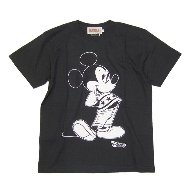 animalia ミッキーマウス アニマリア コラボ tシャツ アパレル 通販 黒