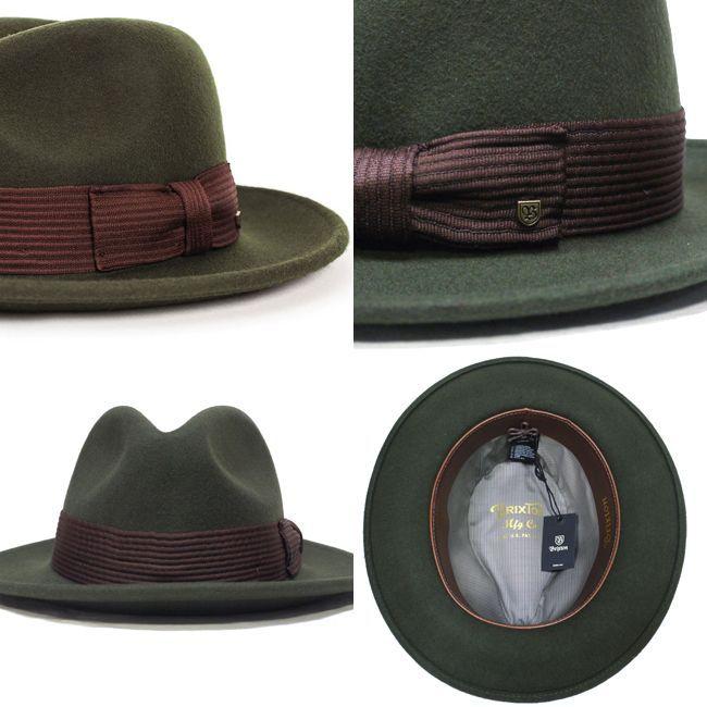 brixton ブリクストン ハット 帽子 キャップ 通販 SWINDLE FEDORA 中折れ帽