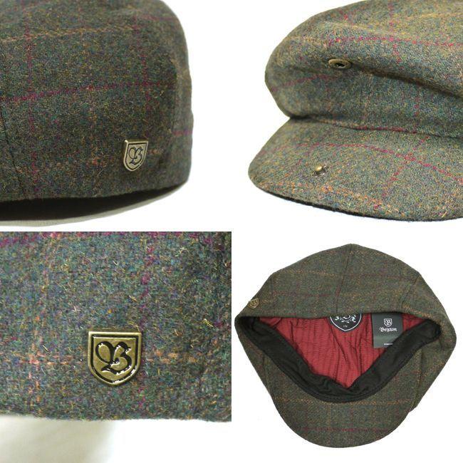 brixton ブリクストン ハンチング 帽子 キャップ 通販 BROOD SNAP CAP