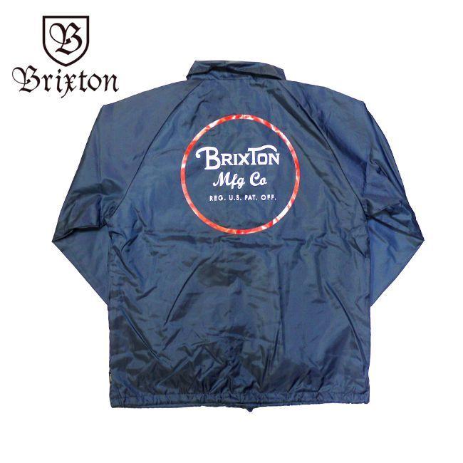 brixton ブリクストン ジャケット アウター ウインドブレーカー 通販 ブランド 取扱店 WHEELER JACKET ネイビー 紺